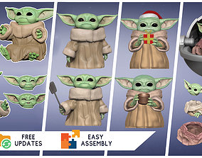 3D print model The Child - GROGU - Baby Yoda - The 3