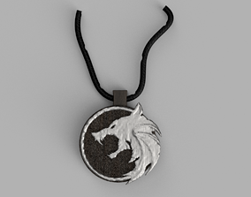 3D printable model The Witcher Medallion jewerly