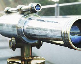 Telescope steel 3D PBR