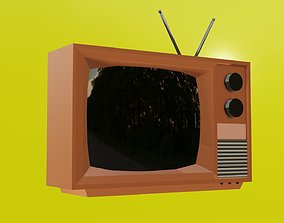 3D Old style TV