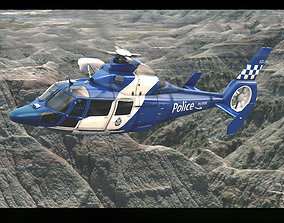 Eurocopter AS 365 Police 3D model
