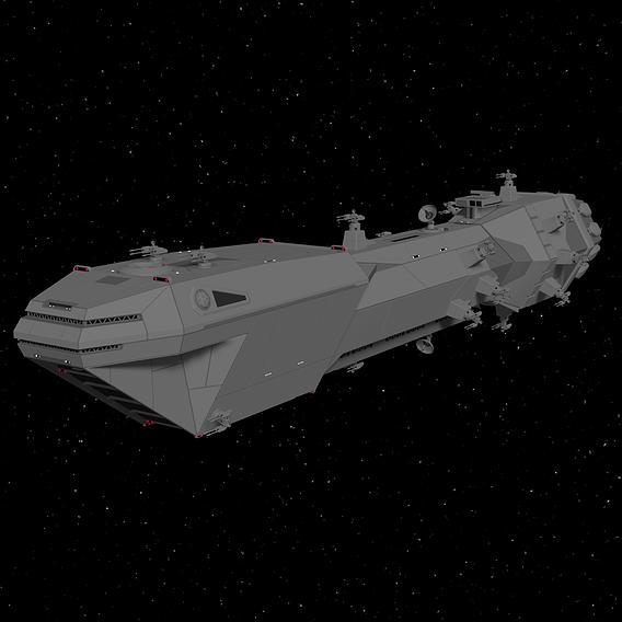 Lancer Class Frigate - Star Wars - Fan-Art