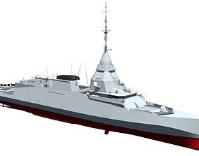FTI Frigate Belharra v2 3D model
