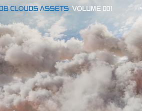 3D model VDB Clouds Volume 1
