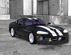 Dodge Viper Poser Vue 3D model