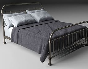 Iron bed 3D model design