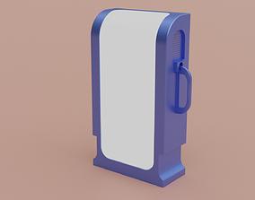 Vending machine sci-fi 3D model