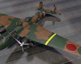 3D Mitsubishi G3M2 Nell
