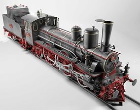 Orleans 1893 Steam Locomotive 3D