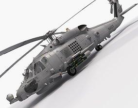 SH-60b Seahawk 3D rigged
