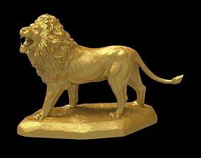 3D print model Big Lion Sculpture