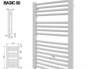 3D Kermi Basic 50 series towel radiator