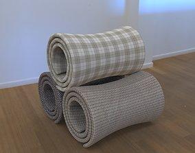 3D model Folded Blanket