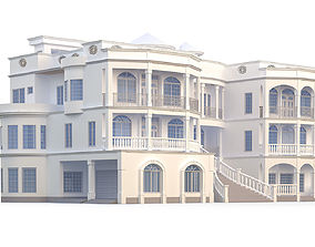 Classical Style House 3D model