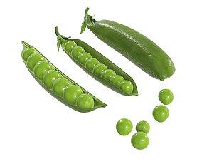 Peas green 3D