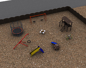 3D model Playground Pack