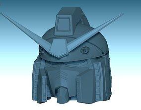 gundam 3D printable model Gundam RX-78 Head