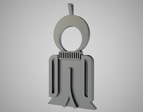Isis Amulet 3D print model