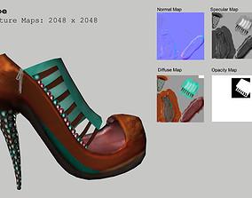High Heel Shoe AAA 3D model