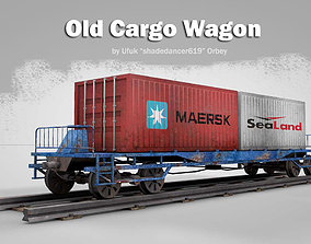 Old Cargo Wagon 3D