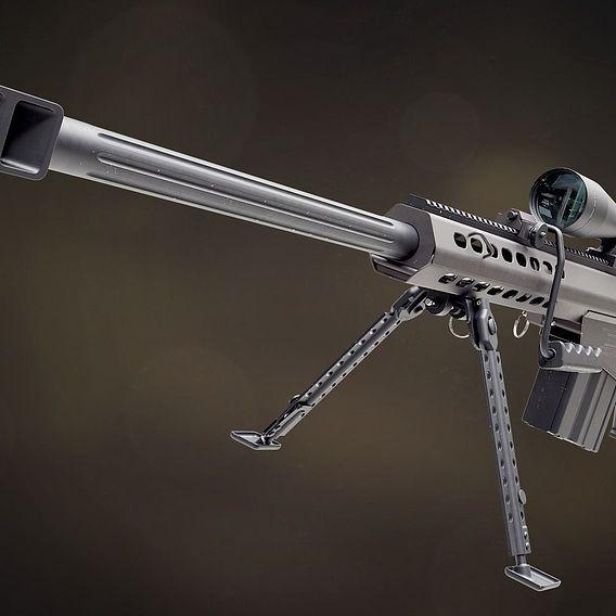 Barret M82A1 sniper rifle