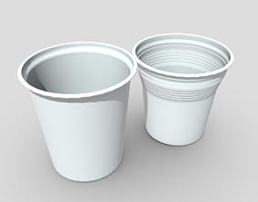 Plastic Cup Set 2 3D model