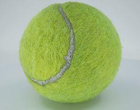 3D asset game-ready Realistic - Tennis Ball
