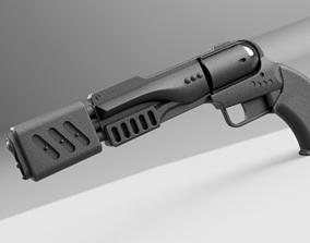 movie Ronon Dex Particle Magnum 3D printable model