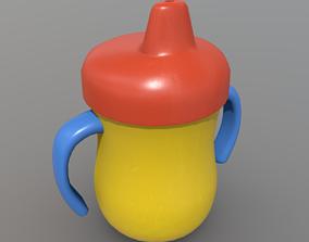 Sippy Cup 3D asset