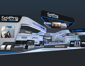 3D various-models Exhibition Stands