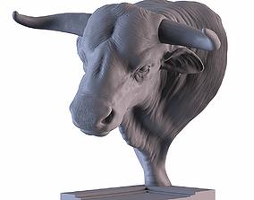3D print model Head Bull