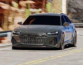 Black car 3D model