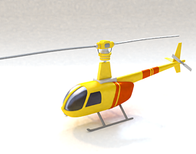 drone Helicopter 3D model