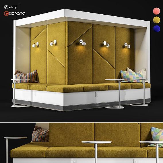 Restaurant And Office Lobi Seating-1