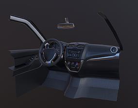 3D model Lada Granta FL Interior