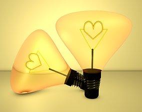 3D LAMP-HEART