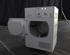 3D model Drying machine