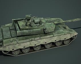 3D asset China PLA Army ZTZ99B Main battle tank
