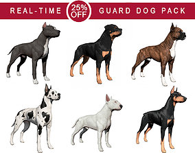 3D model Guard Dog Pack
