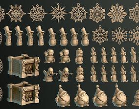 3D print model Christmas Pack v2