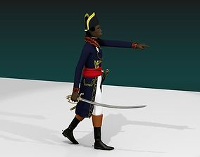 3D General toussaint louverture