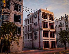 3D model BUILDING URBAN AREA HONGKONG JAPAN CHINA ASIAN 09