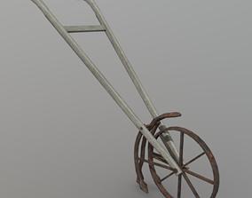 Cultivator 3D asset