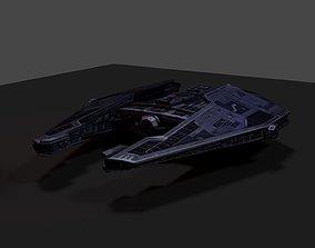 3D asset Ship - Sith Fury