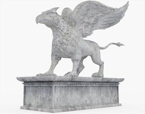 Gryphon Statue 3D PBR