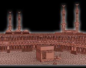 buddha 3D print model Kaaba Panel
