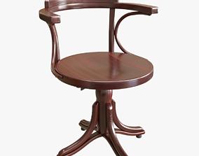 3D model TON revolving armchair kontor 503