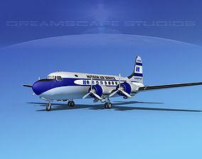 Douglas DC-4 Hudson Air Freight 3D model