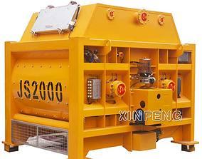 3D model JS2000 Concrete Mixer