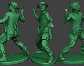 Modern Jungle Soldier Grenade MJS1 3D printable model